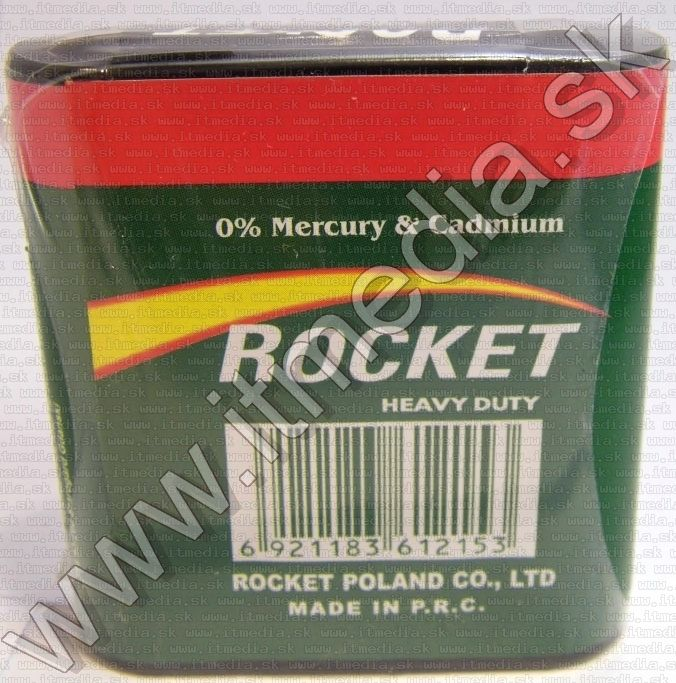 Image of Rocket Battery 3R12 4.5volt Zinc (IT11732)