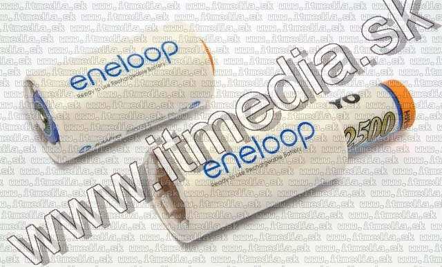 Image of Eneloop Battery Adapter AA to C 2-pack (IT4987)