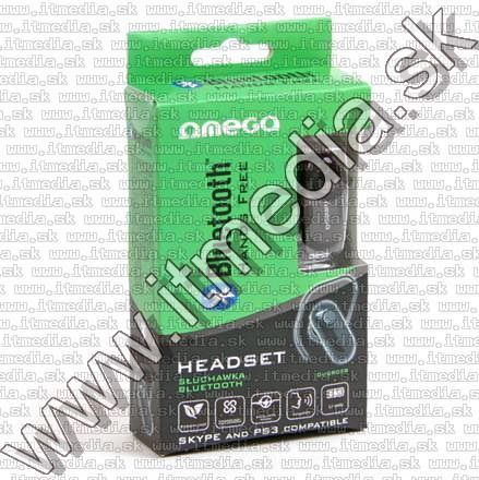 Image of Omega Bluetooth Headset R028 V3.0 + EDR *mono* (IT7758)