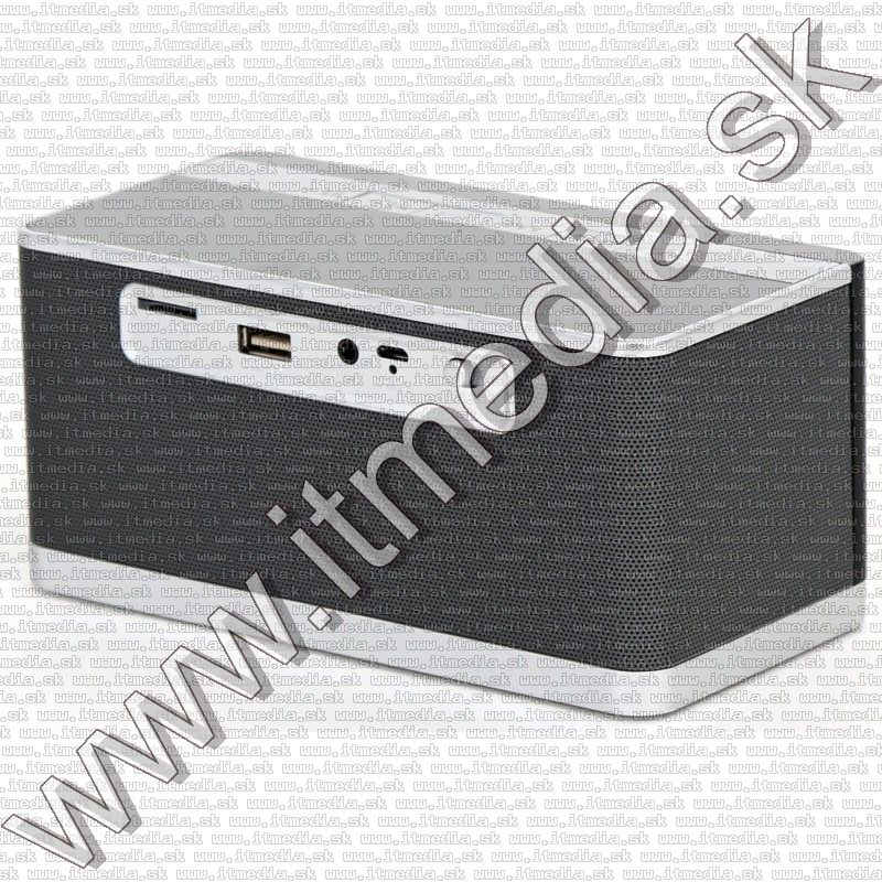 Image of Wireless Bluetooth Speaker Clock with mic and FM 10W PMGC10A (IT13554)