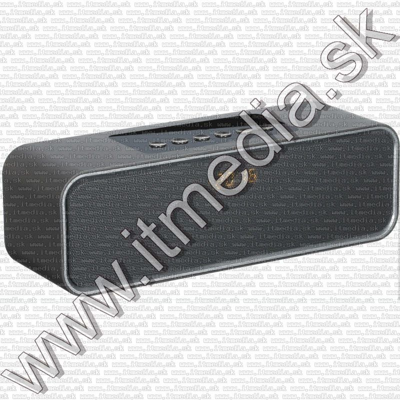 Image of Wireless Bluetooth Speaker Clock with mic and FM 10W PMGC10B (IT13553)