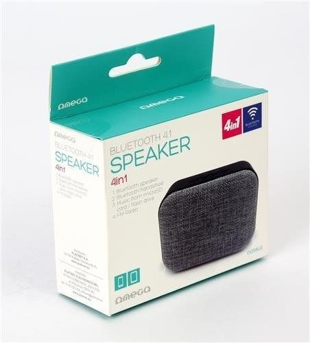 Image of Wireless Bluetooth Speaker with mic and FM OG58G (Grey) (IT13583)