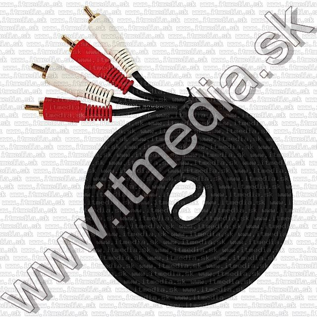 Image of 2x RCA-RCA cable, HQ, 3m (IT9011)