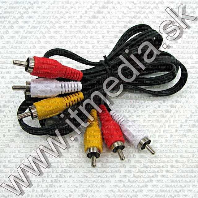 Image of 3x RCA-RCA cable, A-V 1.5m (IT10108)