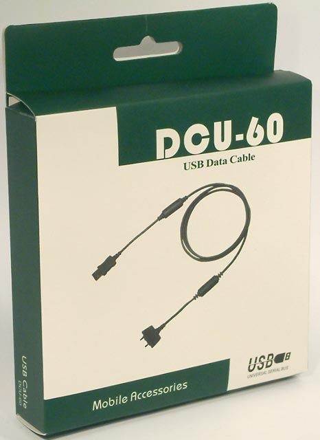 Image of USB Cellphone cable DCU-60 (SonyEricsson) BULK INFO! (IT4194)