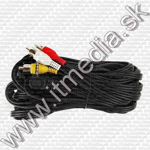 Image of Jack-3xRCA CAMERA cable AV 10m (IT3049)