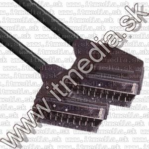 Image of Scart cable 2.5m black (IT7690)