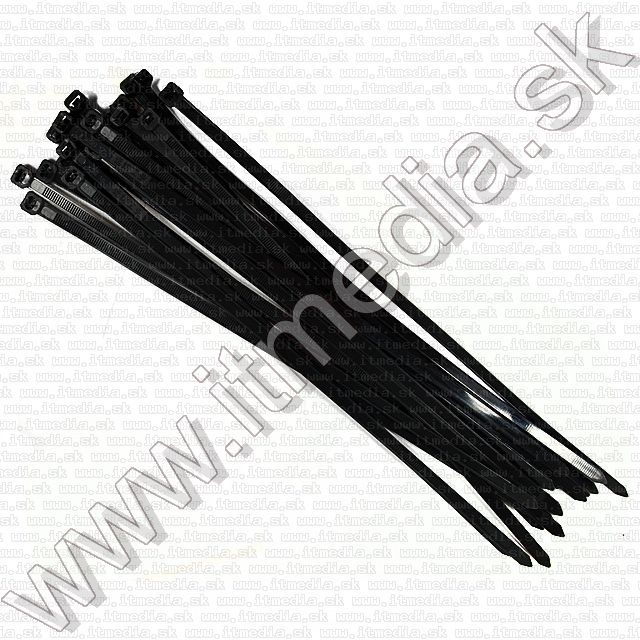 Image of Plastic Cable Ties 3.6x250mm 40-set Black (IT13745)