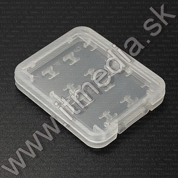 Image of Card holder plastic housing  for 6 microSD(TF) + SD Card + MSpro Duo card (IT11908)