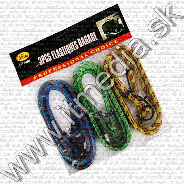 Image of Car Elastic (Stretch) Rope 3-set 90cm B-grade (IT9600)