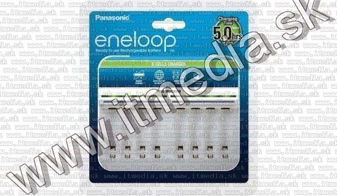 Image of Panasonic EneloopBattery Charger BQ-CC63 8-cell (IT13470)