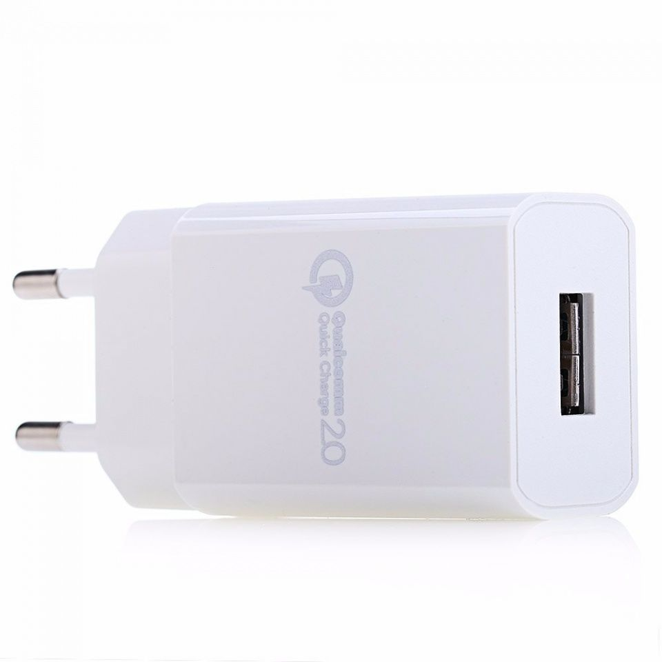 Image of Qualcomm Quick Charge 2.0 USB charger 15W 230V EU (IT12385)