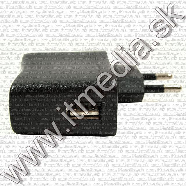 Image of Universal USB charger 500mA *black* 230V INFO! (IT8688)
