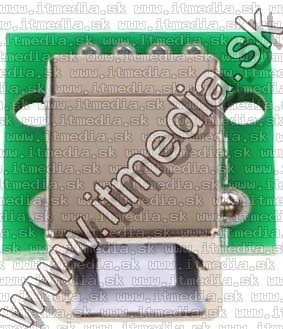 Image of USB Female B connector **panel** (Printer) (IT14634)