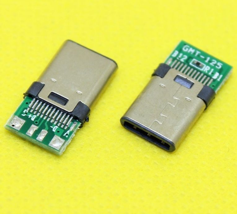 Image of USB-C connector **BULK** (Male) (IT12894)