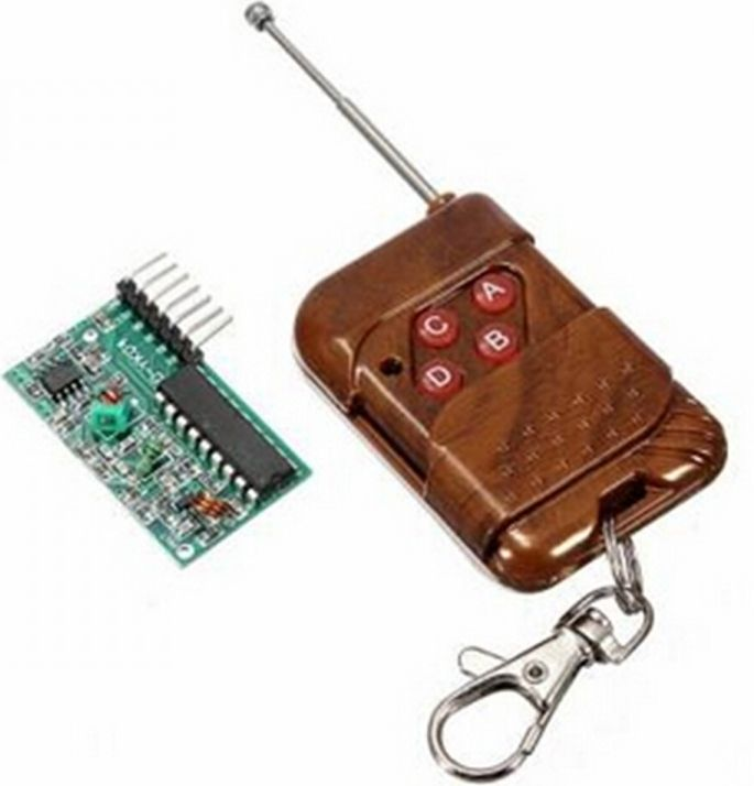 Image of RF remote Controller Set 4Ch (Arduino) (IT12897)