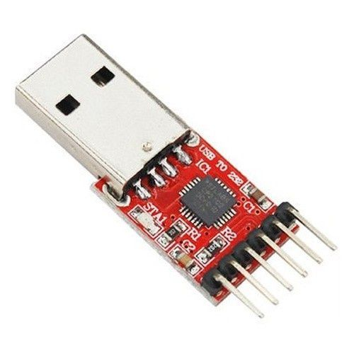 Image of USB to RS-232 adapter TTL CP2102 UART Serial Converter v2 (IT12315)