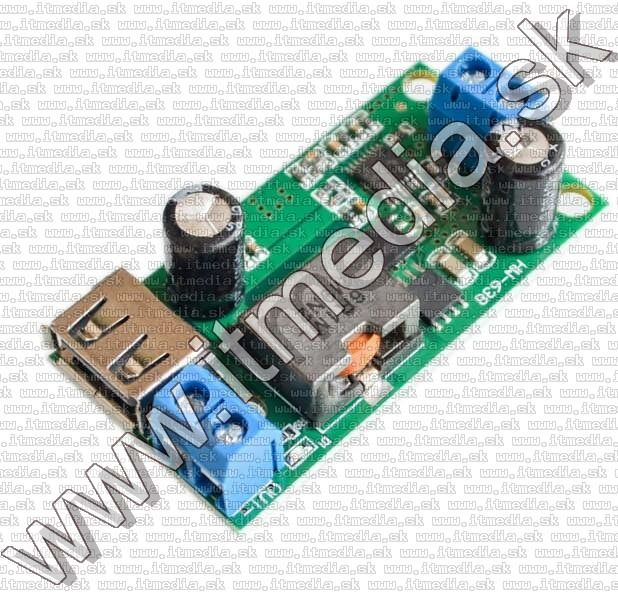 Image of DC-DC Voltage Buck Converter IN 9..35V to 5V 5A 25W (IT13438)