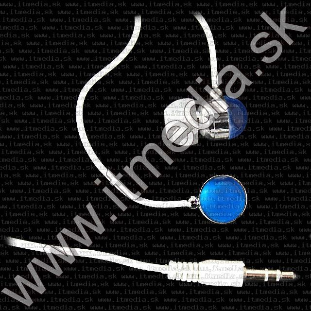 Image of IT Media *Blue* Earphone 3.5mm (IT7861)