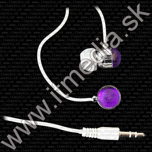 Image of IT Media *Purple* Earphone 3.5mm (IT7863)