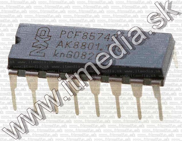 Image of Electronic parts *I2C I/O* PCF8574P DIP-16 (IT13493)