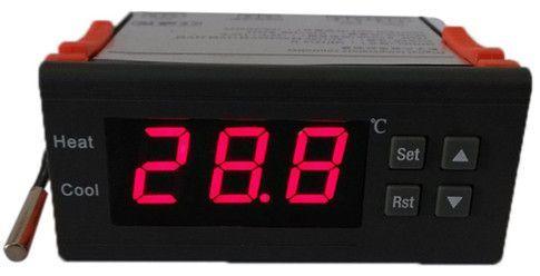 Image of Programozható Digitális termosztát (hőfokszabályozó) 12V 10A Hűtő  vagy fűtő (IT10090) b08497c346