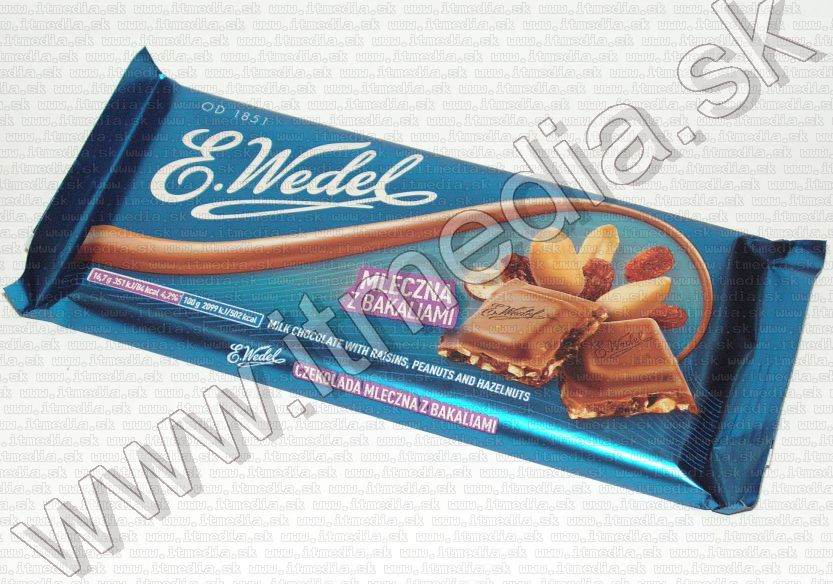 Image of E. Wedel Chocolate 100g (Nut and Raisin) (IT13432)