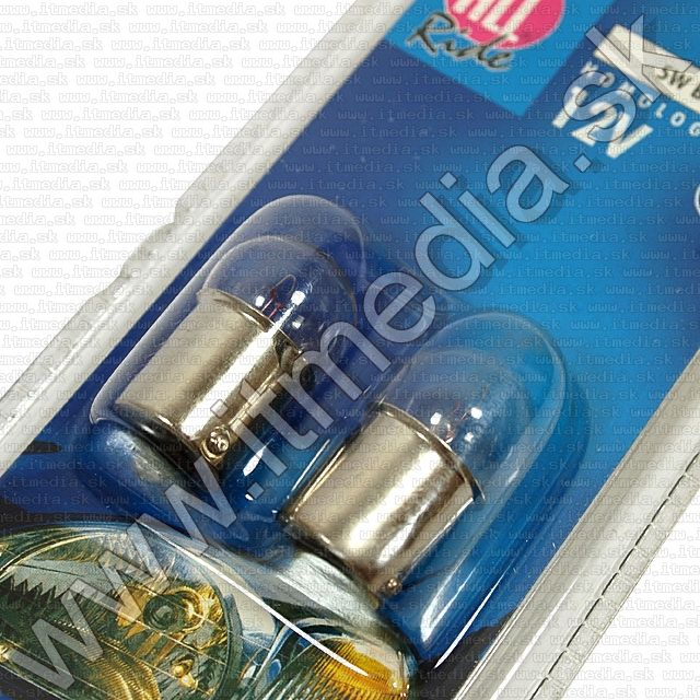 Image of HeadLight BA15S (2-set) 5watt (IT1259)