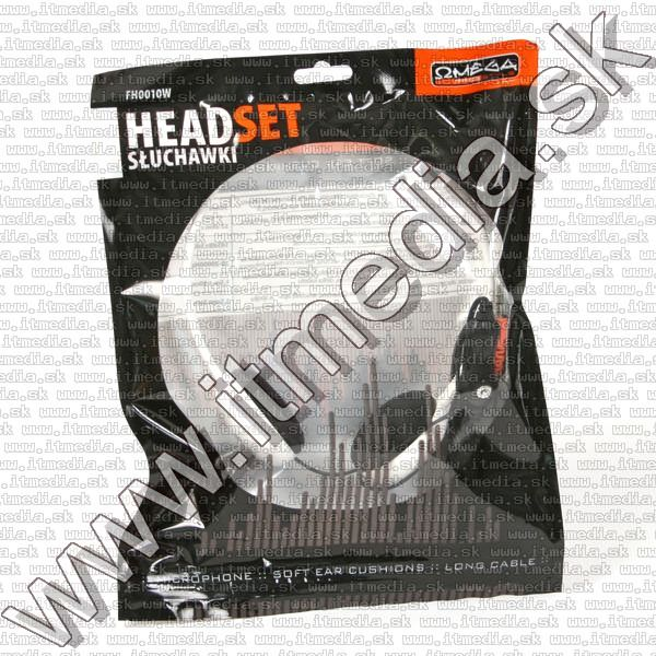 Image of Freestyle Headphones (Headset) Mic. FH0010W WHITE (IT8037)
