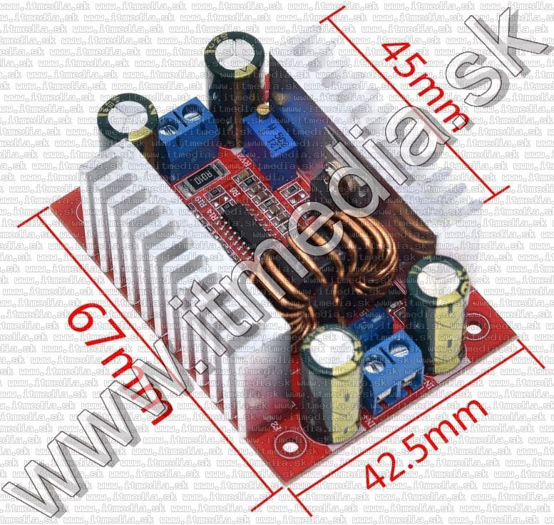 Image of LED meghajtó DC-DC BOOST konverter 10-50V 400W 15A (10-60V) BULK INFO! (IT14019)