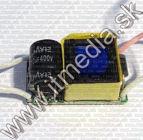 Image of LED Driver Power Supply 230V 10w 900mA (9~11v out) BULK (IT10450)