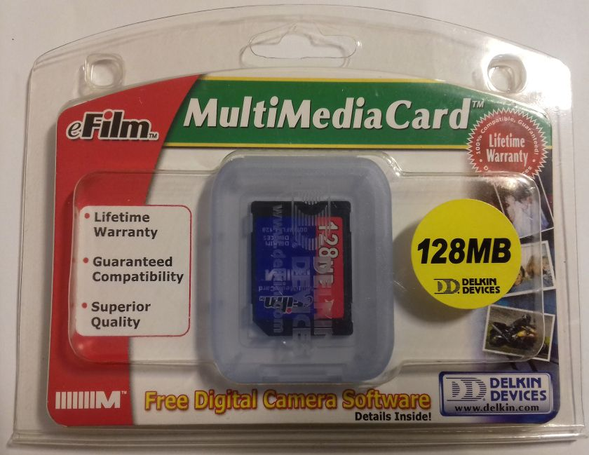 Image of eFilm MMC Mobile card 128 MB INFO!!! (IT13922)