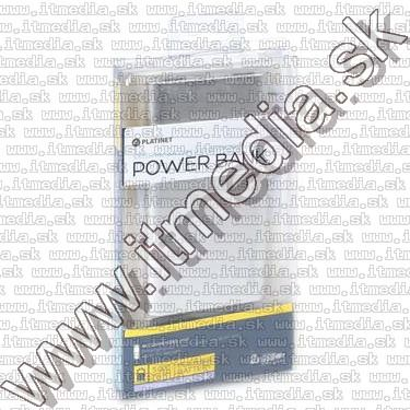 Image of Platinet Slim Powerbank Li-Po 5000mAh Silver (43176) (IT11890)