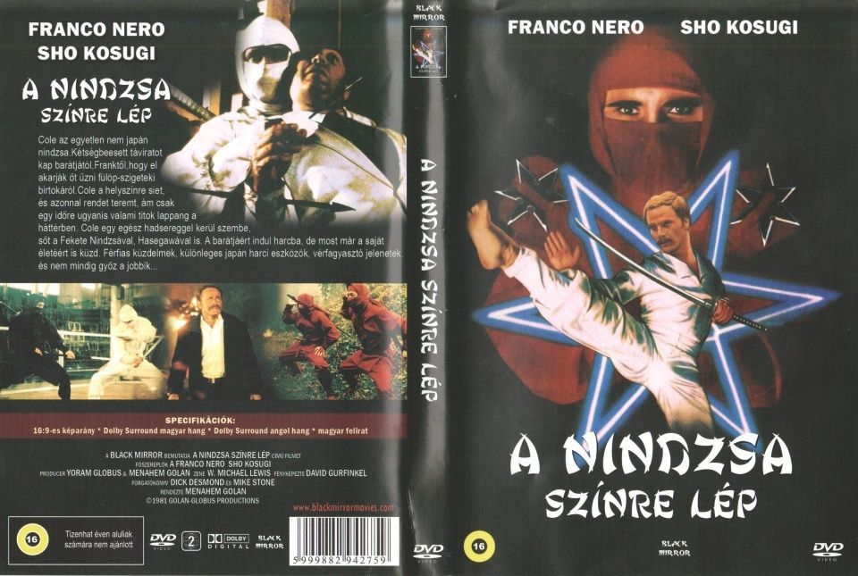 Image of Zsákbamacska DVD film (Nindzsa, Kungfu, Karate) 18-féle (IT12785)