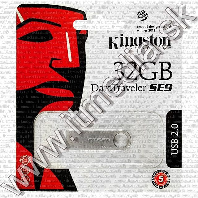 Image of Kingston USB pendrive 32GB *DT SE9* *Metal* !info (IT8749)