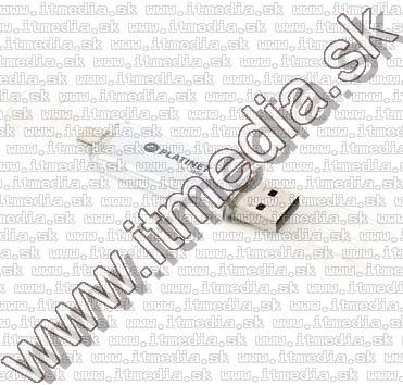 Image of Platinet USB pendrive 16GB AX-DEPO + microUSB (OTG) *Silver* (43194) (17/3,5MBps) (IT11775)