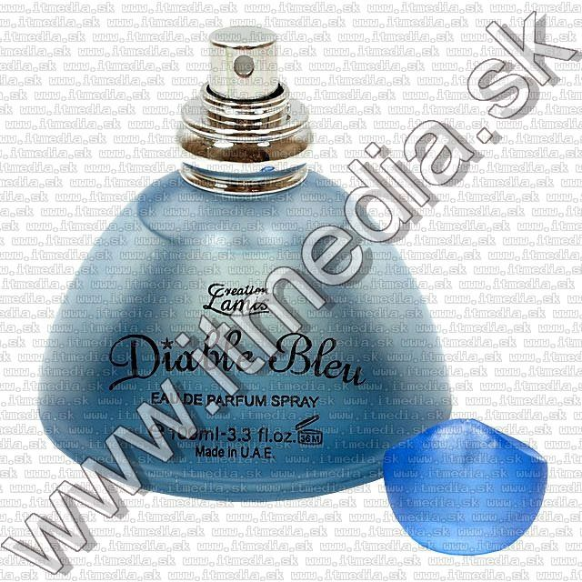 Image of Creation Lamis Perfume (100 ml EDP) *Diable Bleu* for Women (IT2528)