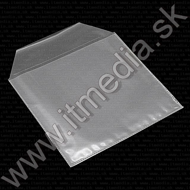 Image of PVC Plastic CD Sleeves with closer 50pk (IT7555)