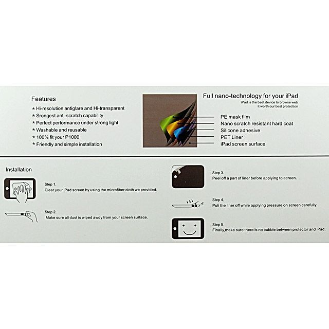 Image of Screen Protector Foil Apple iPad 2-3 Clear (IT8965)