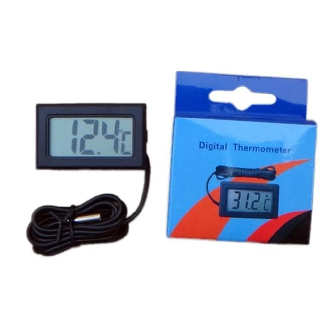 Image of Digital LCD Thermometer with external Probe (IT12683)