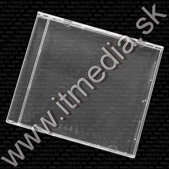 Image of CD Case, Unassembled Clear *BOX ONLY* (IT2973)