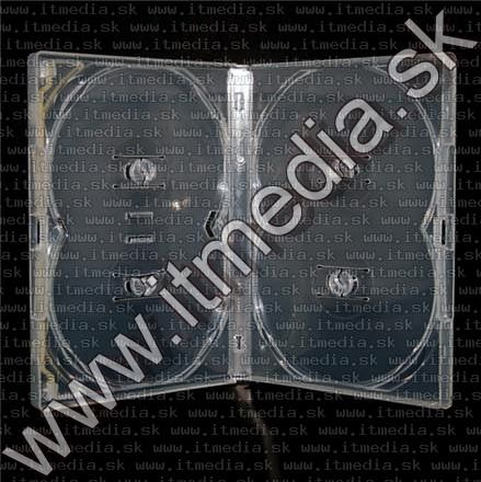 Image of AMARAY DVD Case ***4 PCS*** CLEAR (IT5973)