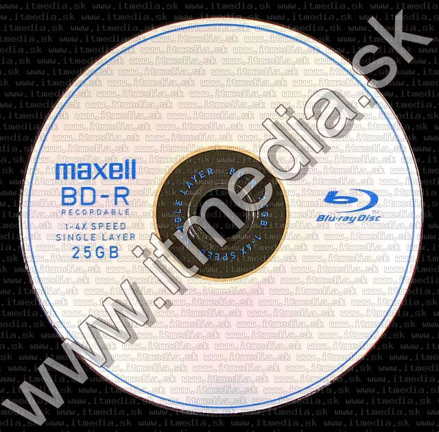 Image of Maxell BluRay BD-R 4x (1 layer) normaljc 25GB (IT4400)