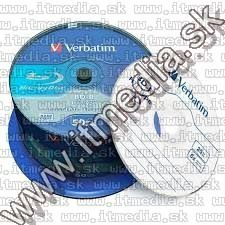 Image of Verbatim BluRay BD-R 6x (25GB) 50cake HTL 43838 Taiwan (IT13111)