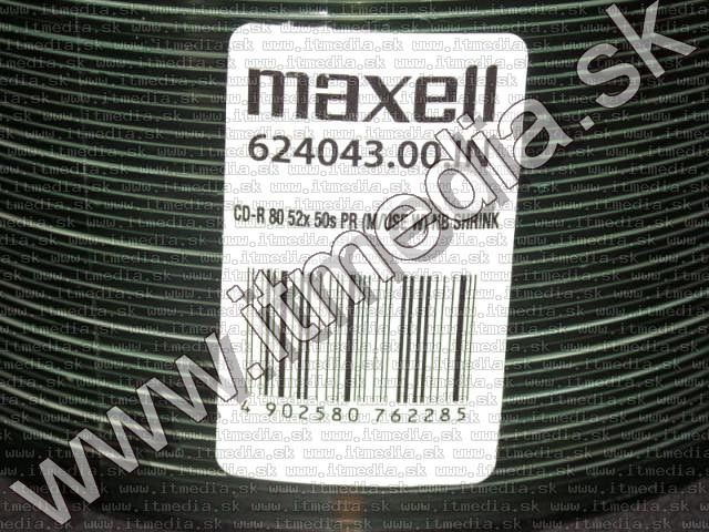 Image of Maxell CD-R 52x **Fullprint** 50cw (IT10497)