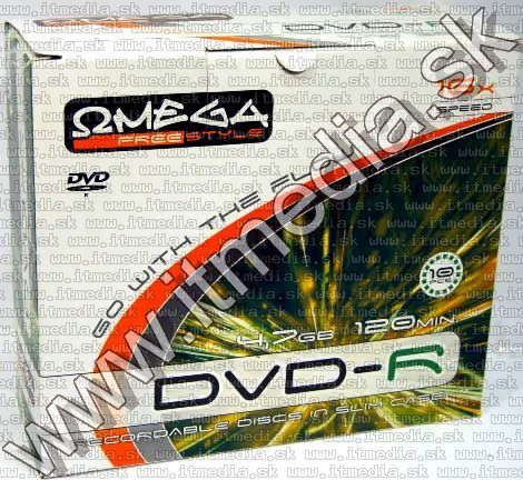 Image of Omega Freestyle DVD-R 16x SlimJC (IT3811)