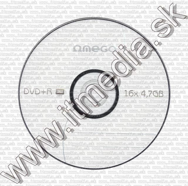 Image of Omega DVD+R 16x 10cake (IT3815)