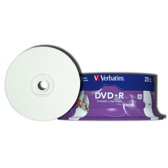 Dvd+r Verbatim 120min Speed 16x 4,7 Gb Spindle