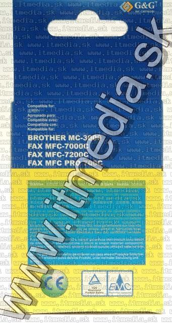 Image of Brother ink (GnG) LC01 cyan 12ml (IT4800)