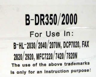 Image of Brother drum (itmedia) DR350 *rebuild* (IT3474)